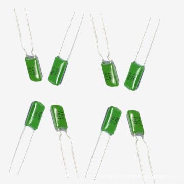 Topmay Отлично Выполнять Зеленый Полиэстер Пленочный Конденсатор Cl11 Tmcf01