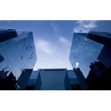 Mur rideau de verre d'isolation thermique
