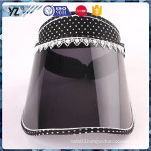 Hot selling custom design hot sale plastic sun visor cap fast shipping