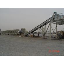 Estação de mistura contínua (cimento, solo, cal)