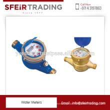 Corrosión y resistencia al calor Medidor de agua para medir el volumen de agua fría / caliente