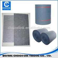 Glass fiber mesh composite mat for bitumen membrane