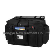 Schwarze Polizei Ausrüstung Tasche