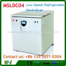 Centrifugeuse réfrigérée à grande capacité MSLDC04 / centrifugeuse frigorifique à grande capacité