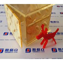 Современная дизайнерская салфетка для салфеток или тканевая акриловая коробка для гостиницы