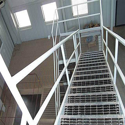 Steel Bar Grid Ladder Step Board
