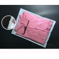 Transparent CPP Non-Woven Garment Packaging Bag, Zipper Packing Bag