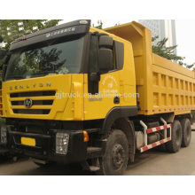 6 * 4 340HP Heavy Duty Hongyan Genlyon Dump Trucks