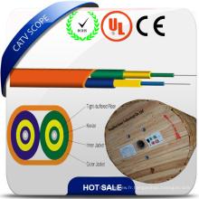 Câble plat duplex Câble fibre optique intérieur