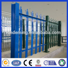 PVC Coated Galvanized Steel Decorative Palisade Fencing