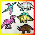 OEM high quality cheaper dinosaur sequins patch