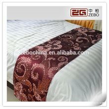 supply china hotel bed tail towel