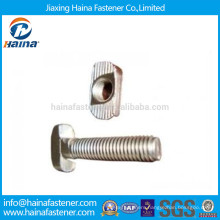 Stainless Steeel T Head Bolt with Nut