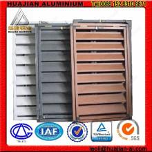 Aluminium Shutter Windows