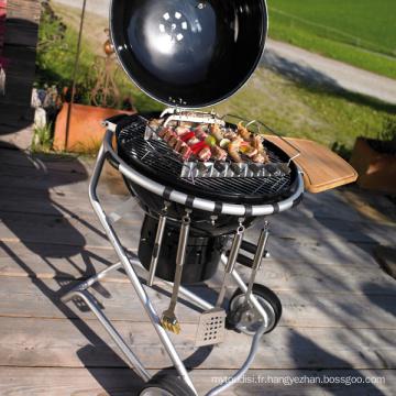 Grill extérieur de charbon de bois de charbon de bois de BBQ