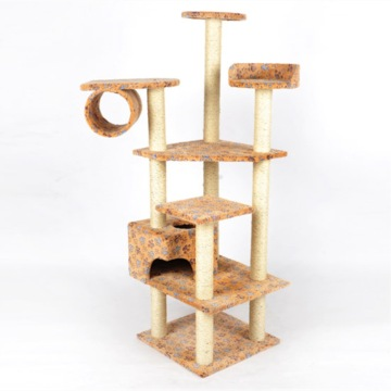 cat furniture cat tree with sisal rope