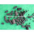 Carbón activado cilíndrico de 4 mm a base de carbón y madera