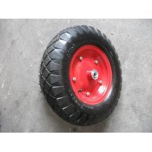 Wheelbarrow's 4.00-8 air rubber wheel