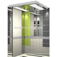 Роскошный деревянный лифт с кабиной без машинного помещения