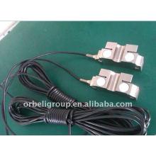Elevator load weighting sensor, measuring device
