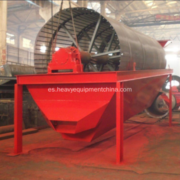 Placer Gold Ore Lavadora Rotary Trommel