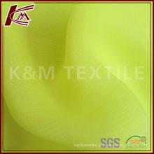 Alta qualidade 100% seda pura ruga Georgette tecido para Lady Maxi vestido