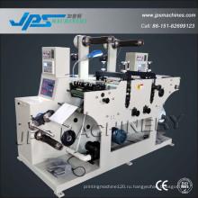 JPS-320c-Tr Двухстоечная машина для резки этикеток с ручным прессом