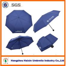 Publicité inversée 3 parapluie pliant