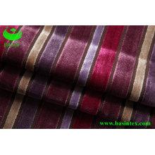 Stripe Velvet sofá tecido (BS4011)