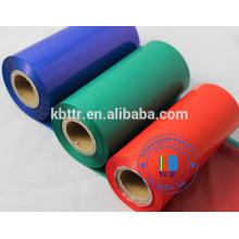 Ruban pour imprimantes zébrées compatible avec la résine de couleur d'impression de label de transfert thermique de vinyle