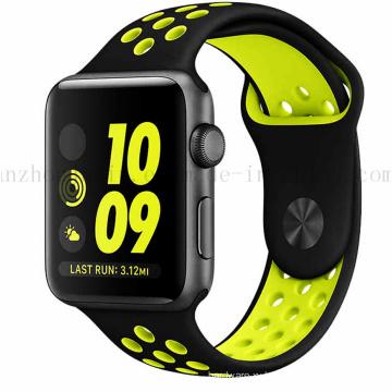 Custom Fashion Sport Eco-Friendly Silicone Bracelet Watch Strap