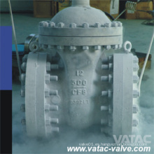 Válvula de compuerta criogénica de baja temperatura de vástago extendido