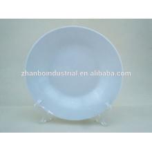 Hot sale Hotel & banquet porcelain 9 inch soup plate