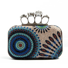 Clutch Bag of Ring Design for Women