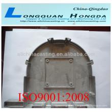 Funda de motor de ventiladores de fundición, ventilador de aluminio de fundición de arena