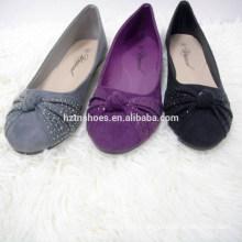 China ballet flats shoes girls flat ladies pump shoes wholesale