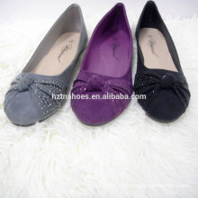 China ballet flats sapatos meninas flat senhoras bomba sapatos atacado