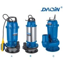 Bomba de agua sumergible de aguas residuales de QDX aluminio (QDX2)