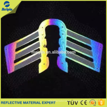 Etiqueta de ropa de TPU reflectante de alta visibilidad