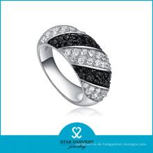 Weinlese-Art-Silber-CZ-Schmucksache-Ring (SH-0069R)