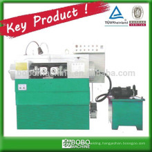 High speed threading machine for steel bar screw