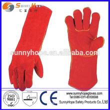 Luvas de segurança de soldagem Sunnyhope com baixo preço