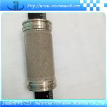 Cylindre de filtre résistant à la chaleur et résistant à l'usure en acier inoxydable