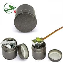 Tenedor de encargo del té de Matcha del logotipo 30g Matcha, recipiente hermético del té de Matcha