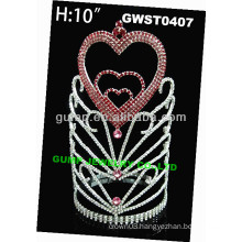 holiday day heart tiara -GWST0407