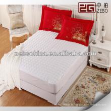 Hotel flat elástico protetor colchão / topper fornecedor