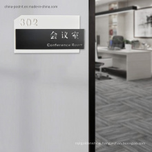 Luxurious Room Number Display Acrylic Plaque