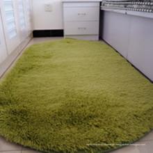verdickte kreisförmige Schlafzimmer flauschigen Teppich und Bodenmatte
