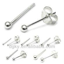 Surgical Steel Ball Ear Earring Piercing