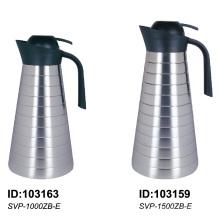 Cruche thermique de pot de café isolée par vide de l'acier inoxydable 304 pour Horeca Svp-1000zb-E